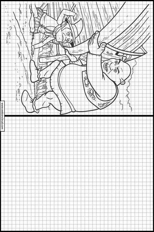 Zeichnen lernen Shrek ausmalbilder 107