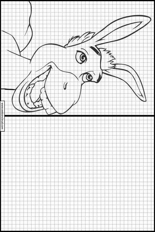 Zeichnen lernen Shrek malvorlagen 138