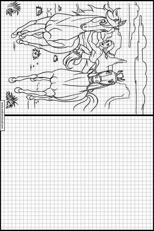 Zeichnen Lernen Spirit Ausmalbilder 11