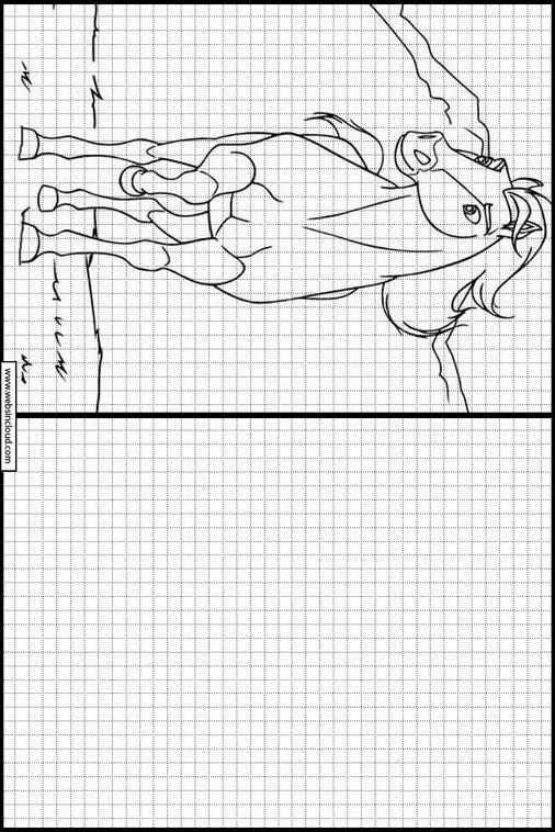 Zeichnen Lernen Spirit Malvorlagen 12