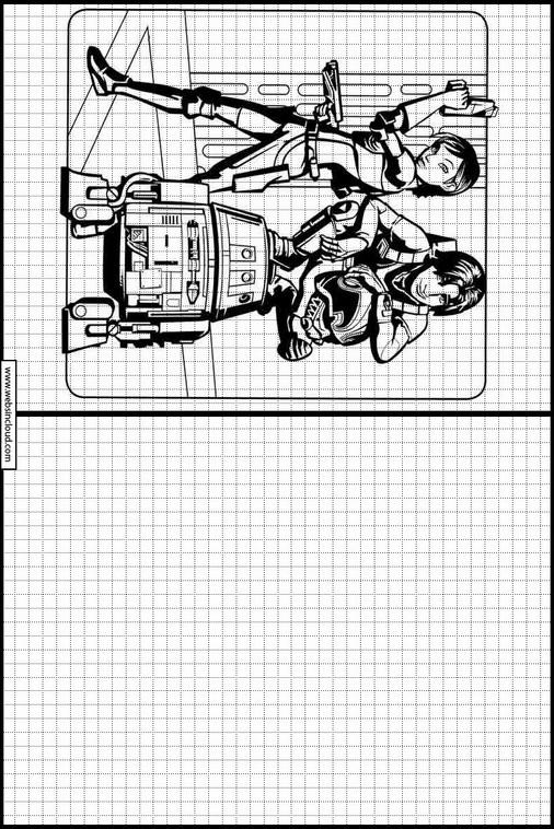 Desenhos Para Impressao Para Desenhar Star Wars Rebels 12