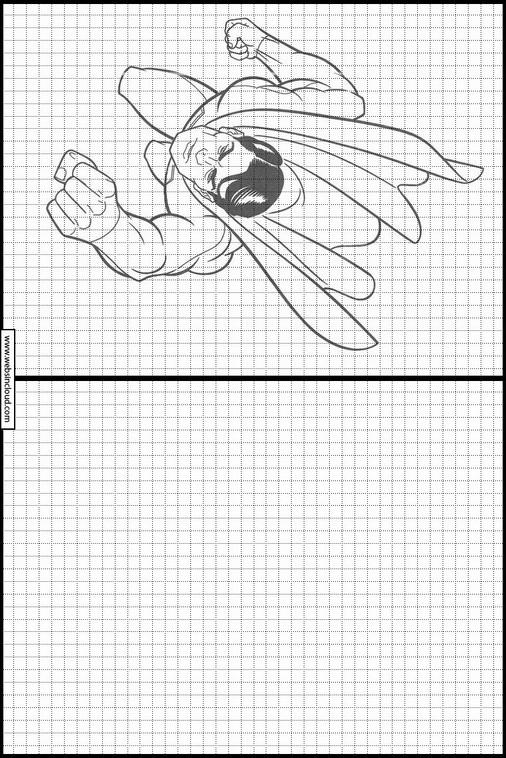 Zeichnen lernen Superman malvorlagen 18