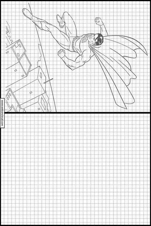 Zeichnen lernen Superman malvorlagen 30