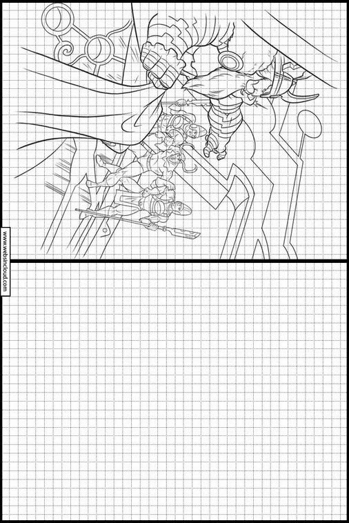 Aprender A Dibujar Actividades Para Niños Thor 10