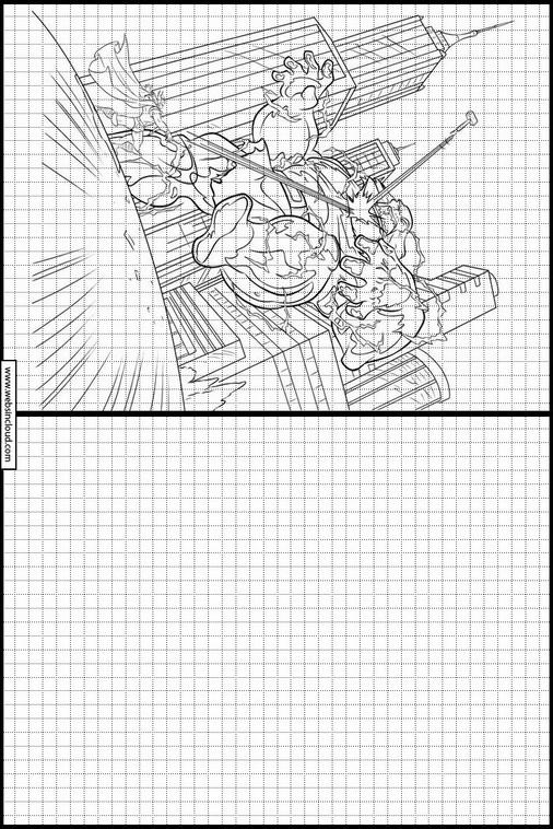 Thor Dibujos Para Dibujar Y Colorear 9