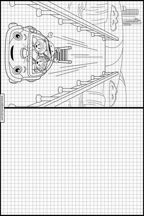 Umizoomi dibujos para copiar y colorear 12