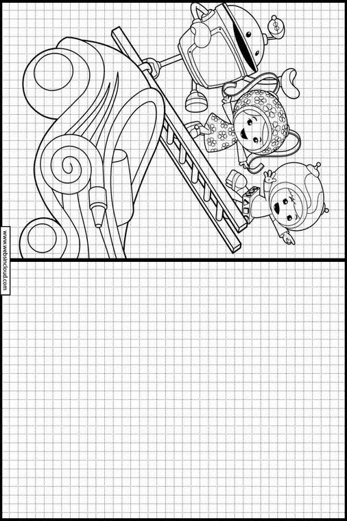 Umizoomi dibujos para copiar y colorear 14