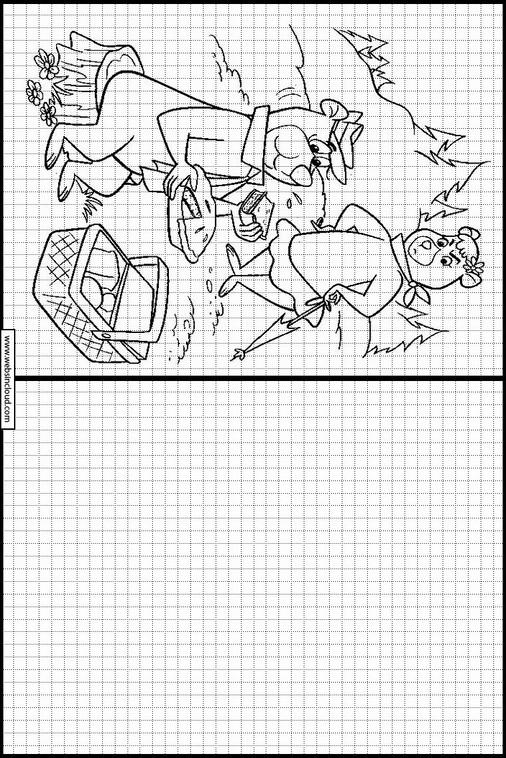 Zeichnen Lernen Yogi Bär Ausmalbilder 5