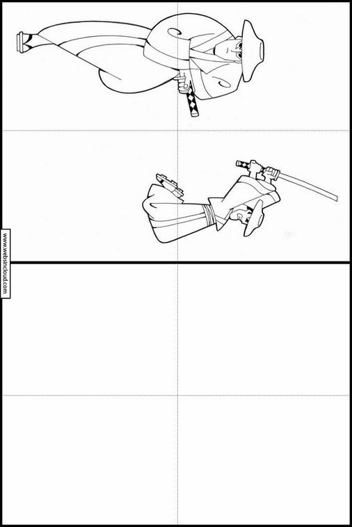 Atividades Para Aprender A Desenhar Samurai Jack 4