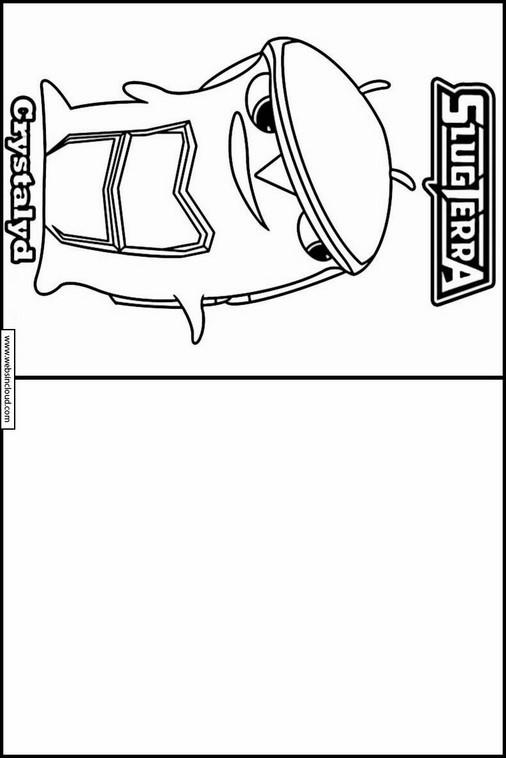 Slugterra dibujos para copiar y colorear 7