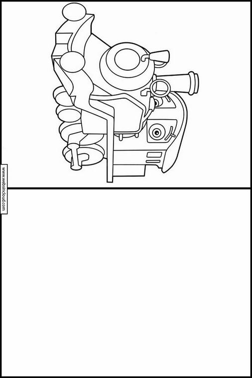 Lujoso Dibujos De Chuggington Motivo - Ideas Para Colorear ...