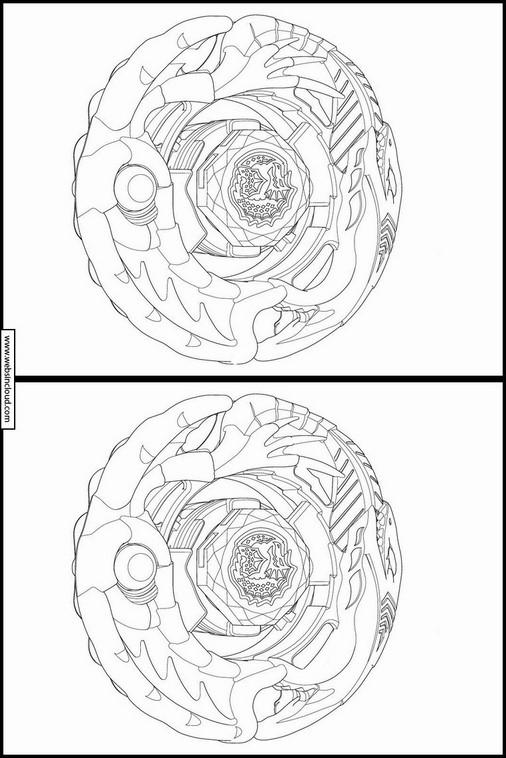 unterschiede finden beyblade burst zum ausdrucken 25