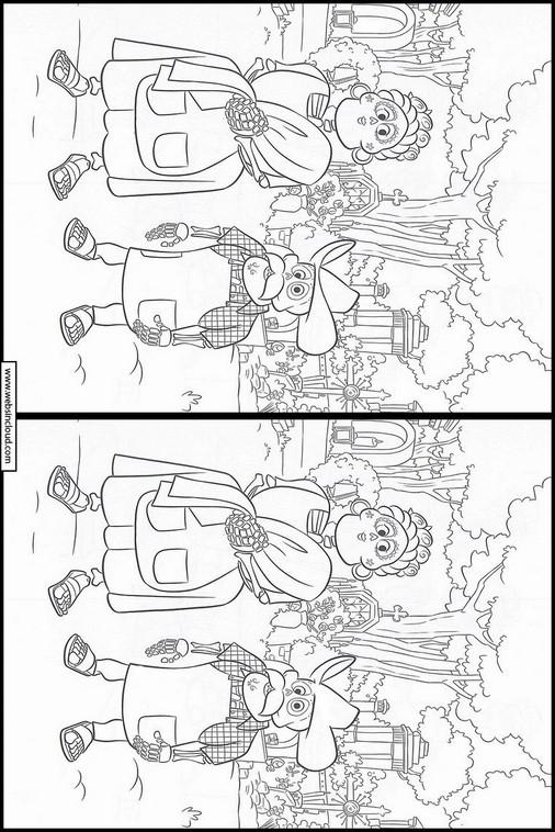 Buscar las diferencias en el dibujo Coco 18