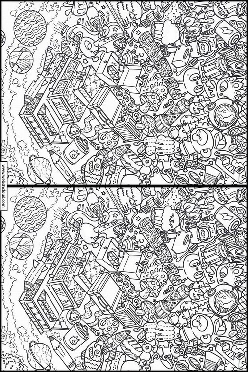 Doodles i rymden 8