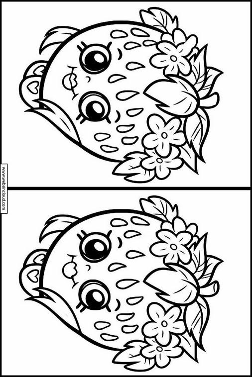 encontrar as diferenças em desenhos shopkins 10