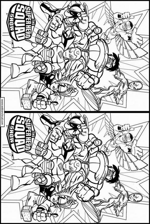 Super Hero Squad 9