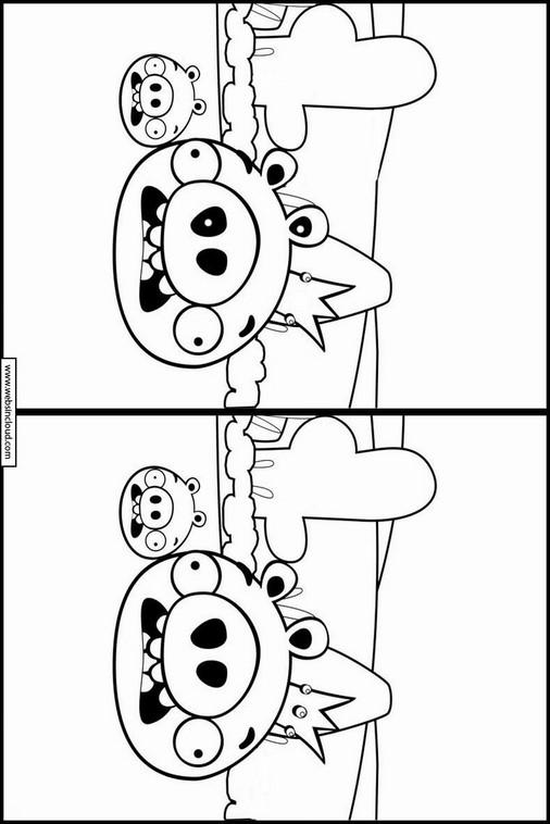 Actividades divertidas buscar diferencias Angry Birds 38