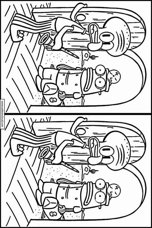 Atividades Didaticas Para Imprimir Bob Esponja 12