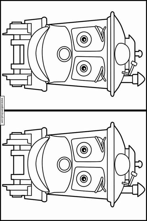 Excepcional Chuggington Koko Para Colorear Regalo - Dibujos Para ...