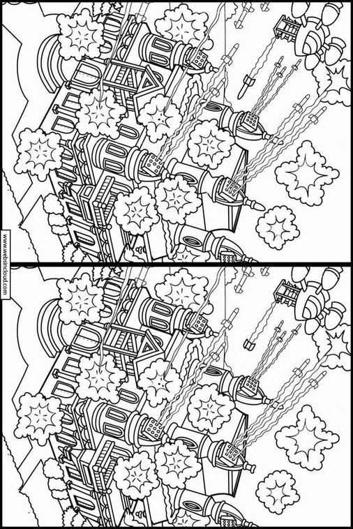 Desenho Knd A Turma Do Bairro Descubra As Diferencas 48
