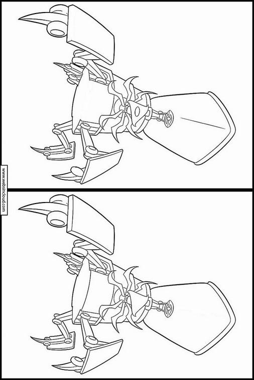 G-Force dibujos para niños con actividades 7
