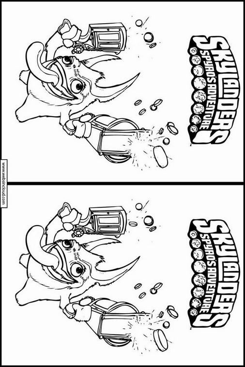 Excelente Skylanders Para Colorear Pop Fizz Motivo - Dibujos Para ...