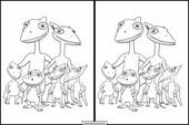 Dinosaurier Zug10
