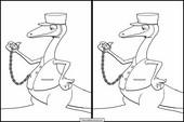 Dinosaurier Zug12