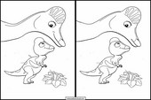 Dinosaurier Zug13