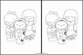 Muñecas Kokeshi3