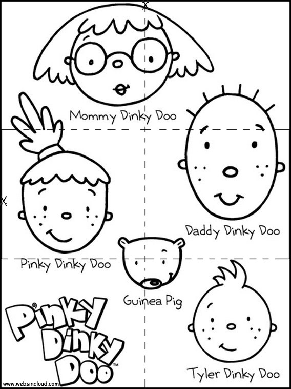 Pinky Dinky Doo... | Free coloring pages, Free coloring | 758x568