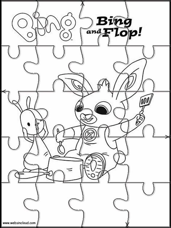 Bing Bunny Jigsaw To Cut Out 4