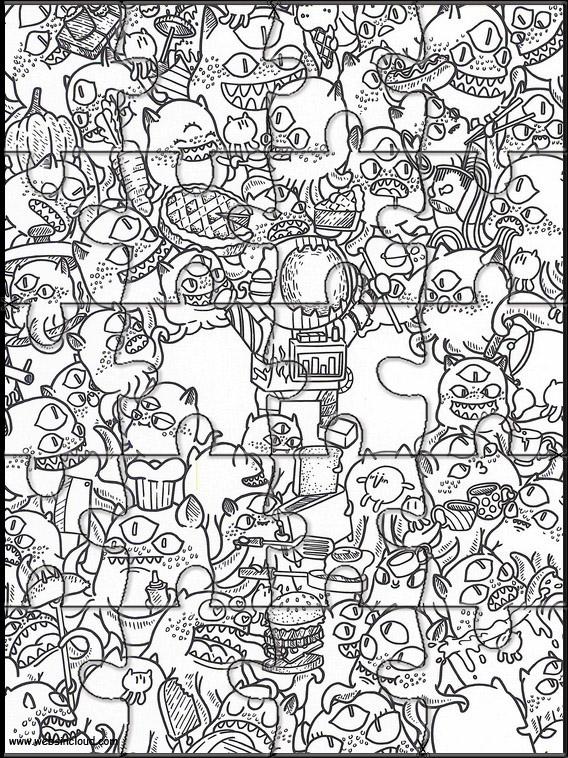 Doodles i rommet 26