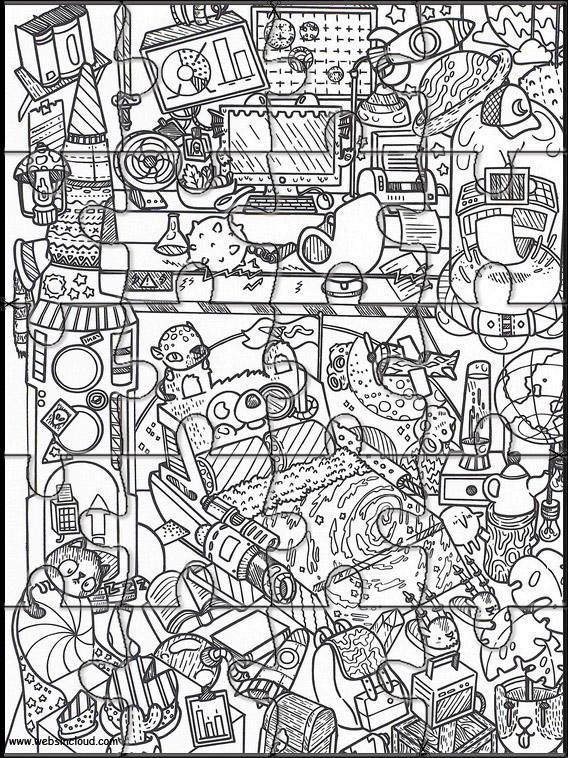 Doodles i rommet 34