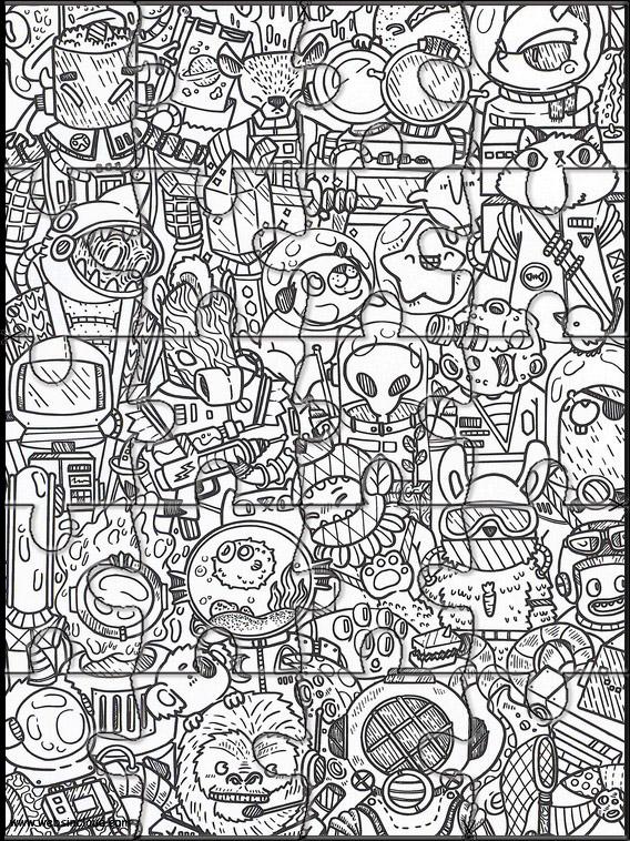 Doodles i rommet 37