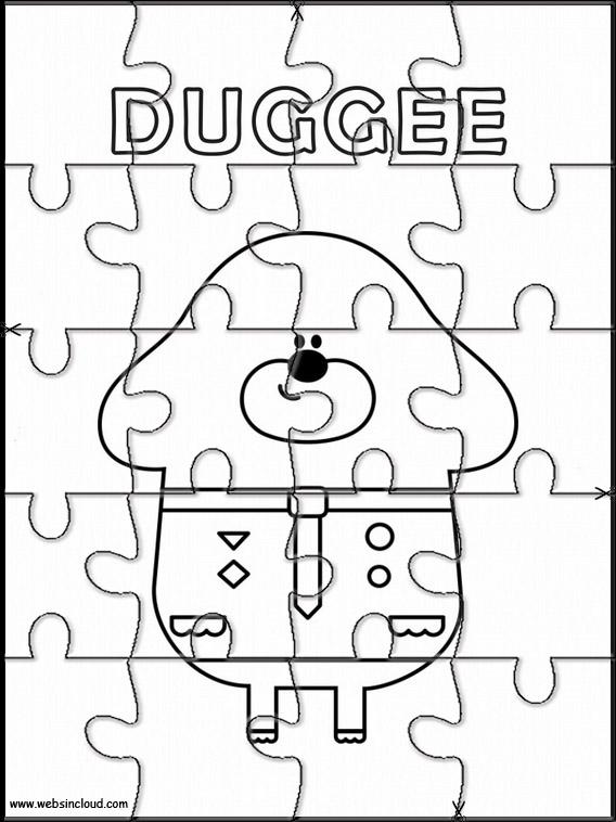 Puzzle Da Stampare Colorare Hey Duggee 5