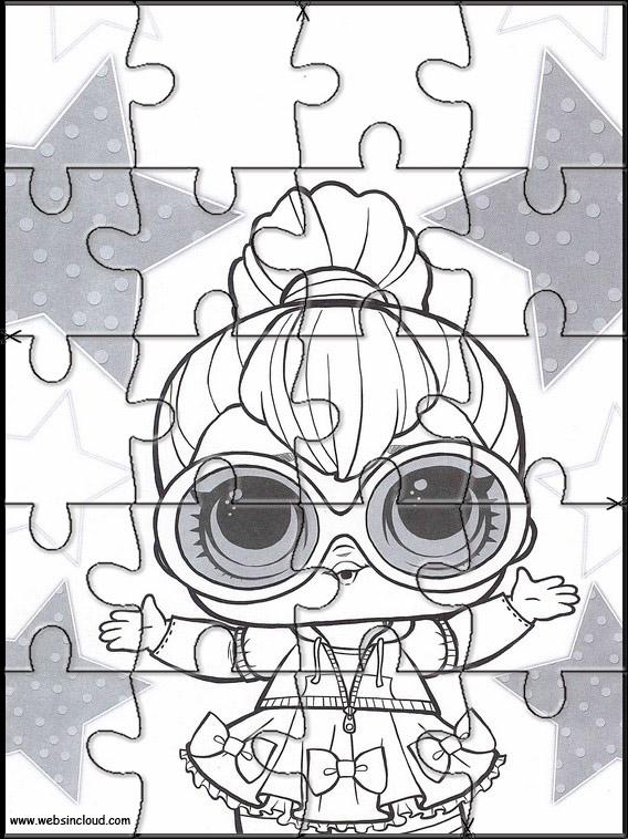 Puzzle Da Stampare Per Bambini L O L Surprise 1