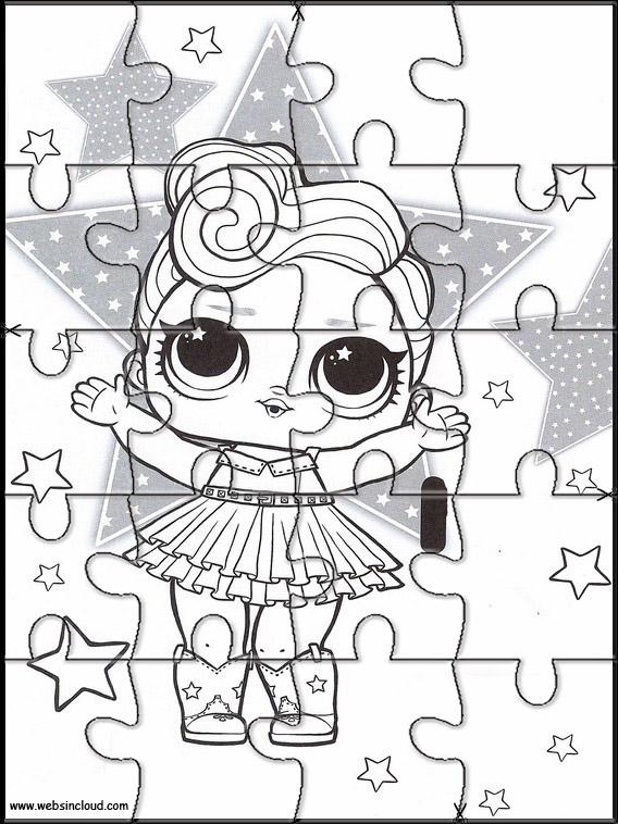 Puzzles Recortables Para Imprimir Para Ninos L O L Surprise 8