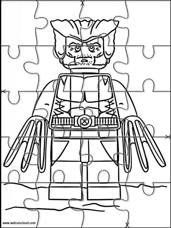 Lego Marvel Heroes Printable Jigsaw 8