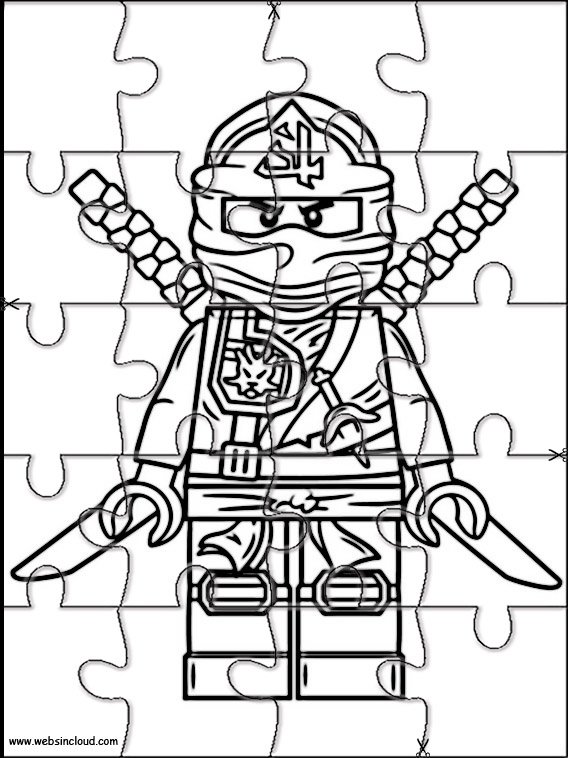 Lego Ninjago Puslespill for barn 2