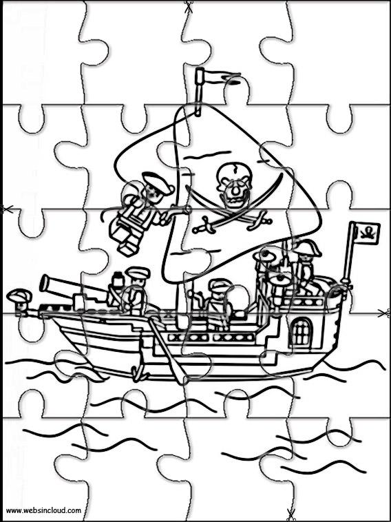 Puzzle Per Bambini Lego Pirati 3