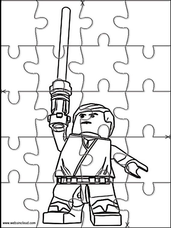 Puzzle Da Stampare Colorare Lego Star Wars 5