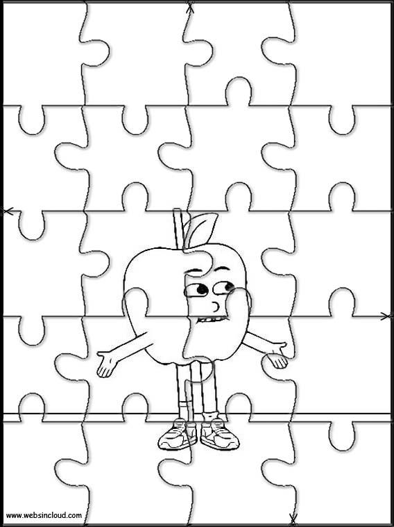Apfel und Lauch 29