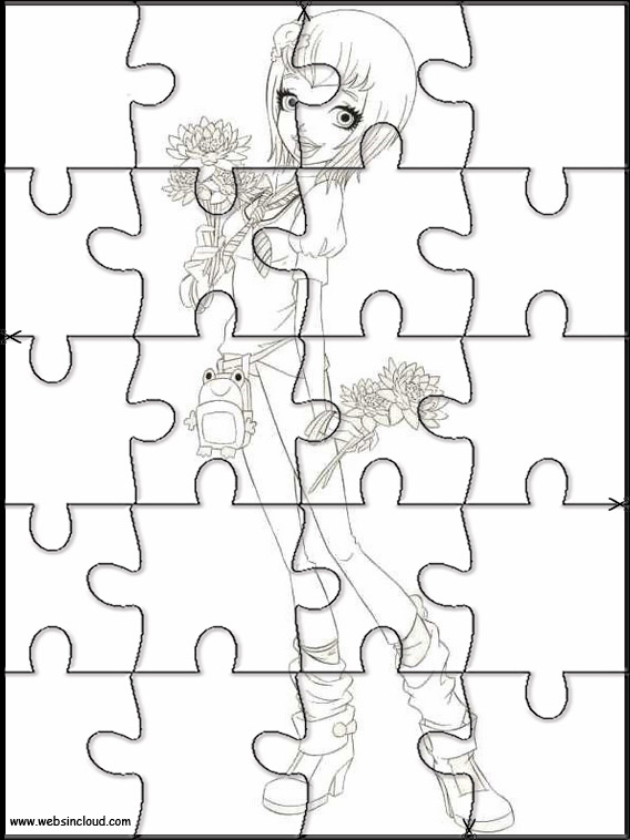 Puzzle da stampare colorare regal academy 5 for Disegni da colorare regal academy