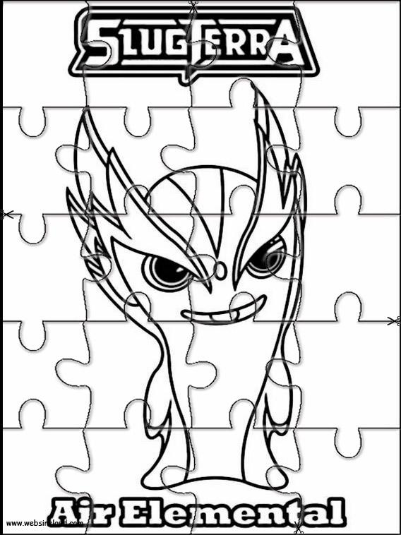 Puzzle slugterra 2 - Coloriage slugterra a imprimer ...