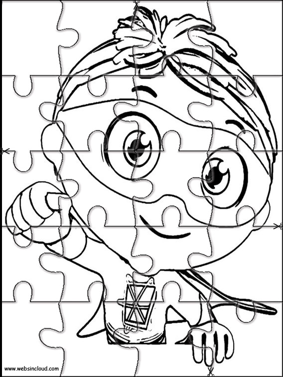 photograph about Super Why Printable named Tremendous Why Jigsaw in direction of slice out 4