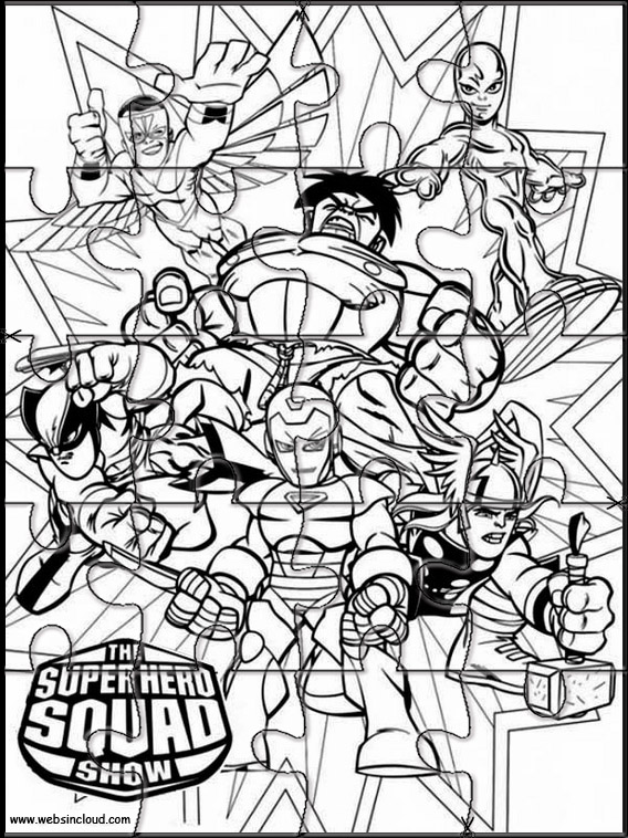 The Super Hero Squad 9