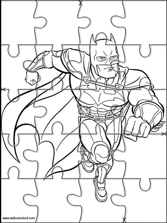 Batman Jigsaw To Cut Out 4