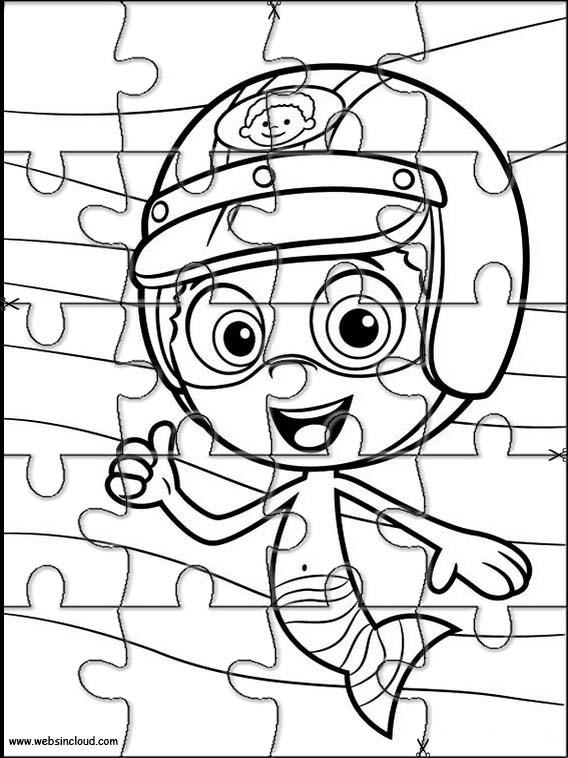Bubble guppies puzzle a imprimer 18 - Jeux bubble guppies ...