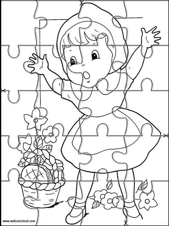 Jeux Le Petit Chaperon Rouge Puzzle 7